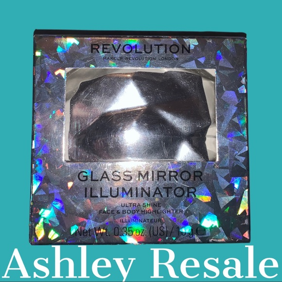 NWT Revolution Highlighter and Compact Mirror